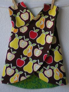 Clearance Sale  SALE Reversible Pinafore in by abbysatticsatx, $21.00