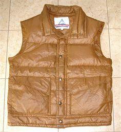 80s HOLUBAR Down Vest