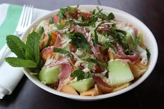 Melon, Prosciutto and Mint Salad | The Doctor's Daughter