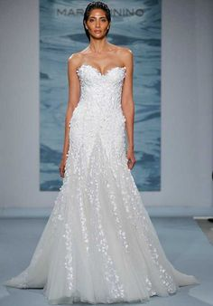 Mark Zunino for Kleinfeld 115 Mermaid Wedding Dress
