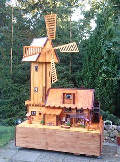 Kombi Wasser Windmühle Bauanleitung zum selber bauen