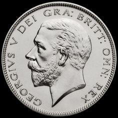 1927 George V Silver Proof Half Crown