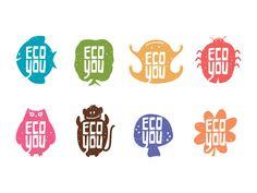 EcoYou Branding by Epic! Aventuras Criativas, Maurício Cardoso and Marina Procházka via Behance
