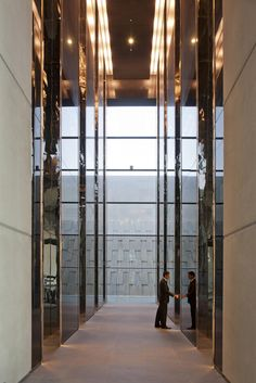 The Index | Projects | Foster + Partners Dubai   #elevators #lift #architecture #ascensores #arquitectura