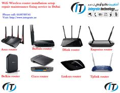 https://flic.kr/p/VUNcEb | routers setup | Wifi wireless router installation setup repair maintenance tplink dlink cisco belkin buffalo asus 0556789741 Dubai  We offer the best service for complete internet wifi installations in Dubai- 0556789741 We provide best wifi installation and wifi solutions to our esteemed clients as we understand the importance of security measures. Security should be a major concern when choosing WiFi installation. Integrate technology is the one and are Wi-Fi…