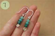 fizzi~jayne makes.... : Guest Post ~ Spiral Earrings Tutorial....