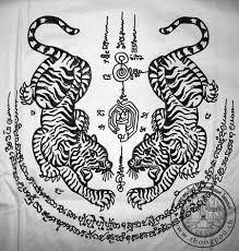 Sak Yant tattoo tiger - Google Search