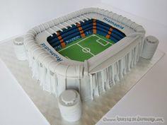 Tarta Estadio Santiago Bernabeu