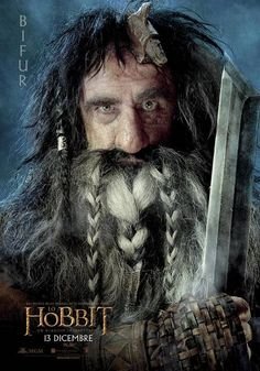 Lo Hobbit Character Poster Italia Bifur