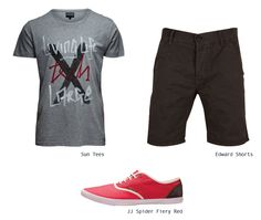 Add a hint of COLOR to your casual outfit! #Men #Fashion #Items