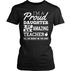 Teacher - Proud Daughter