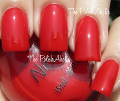 Nicole by OPI Kardashian Collection; Kourt Is Red-y For A Pedi