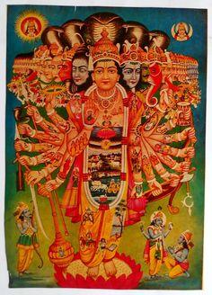 "magictransistor: "" Vishnu in Universal Form "" Krishna Images, Krishna Art, Ganesha Art, Krishna Photos, Shree Krishna, Indian Gods, Indian Art, Bal Hanuman, Lord Vishnu Wallpapers"