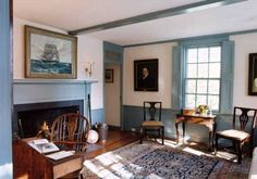 colonial interiors | Virtual Writers Colony | Filling Spaces