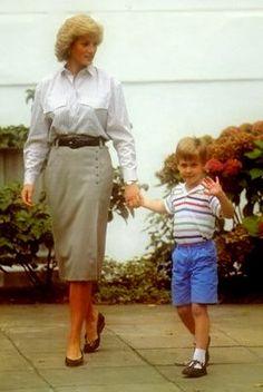 Princess Diana & Prince William