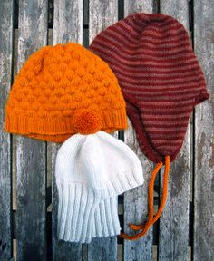 Ravelry: Cashmere Hats: Man's Striped Flap Hat pattern by Purl Soho