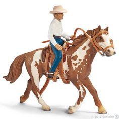 Schleich, Western riding set