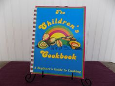 The Children's Cookbook A Beginner's Guide to Cooking, Vintage Cookbook, 1980 by ButterBeanBooks on Etsy https://www.etsy.com/listing/207311710/the-childrens-cookbook-a-beginners-guide