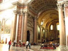 Thermae Diocletianae: Interior of the Chiesa di Santa Maria degli Angeli, Baths of Diocletian