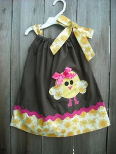 Easter Pillowcase Dress / handmade by AllissonsCreations on Etsy, $26.00