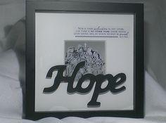 Hope  White Cross on Mountaintop by SilverHopeDesigns on Etsy
