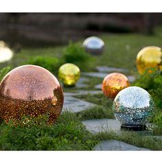 Mercury Glass Gazing Balls | VivaTerra