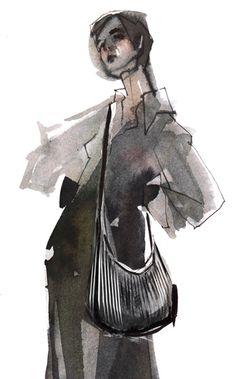 Fashion illustration // Maria Remedios Kleinschmidt