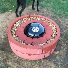 How to Be Creative with Stone Fire Pit Designs: Backyard DIY Cool Fire Pits, Diy Fire Pit, Fire Pit Backyard, Fire Pit Gravel, Concrete Fire Pits, Fire Pit Party, Fire Pit Materials, Fire Pit Ring, Fire Pit Designs