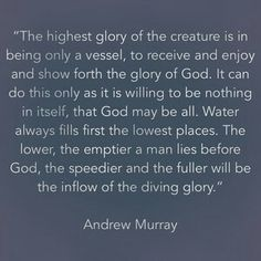 I miss more of humility in myself :( Praying to Lord to help me to get rid of myself in order to make Him truly God sitting on the throne of my life... He is faithful and trustworthy :)