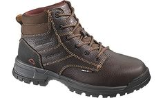 Wolverine Boots Wolverine Piper Peak AG WP CT EH Brown Boot 6 Inch Women Boots W10180