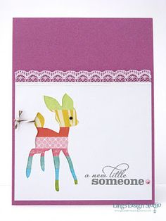 Little Someone Card by @Vera Yates
