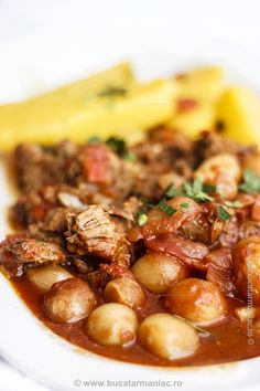Romanian Food, Chana Masala, My Recipes, Beef, Cooking, Ethnic Recipes, Dan, Salads, Meat