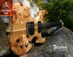 Exhibitor at the Holy Grail Guitar Show 2015:  Gregor Olbrich, Thorndal Guitars, Germany. www.thorndal.de www.facebook.com/ThorndalGuitars www.holygrailguitarshow.com/exhibitors/thorndal-guitars/