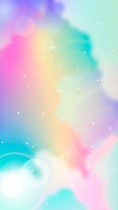 Cute Emoji Wallpaper, Cute Wallpaper Backgrounds, Colorful Wallpaper, Galaxy Wallpaper, Colorful Backgrounds, Wallpaper Ideas, Phone Wallpapers, Rainbow Sky, Rainbow Colors