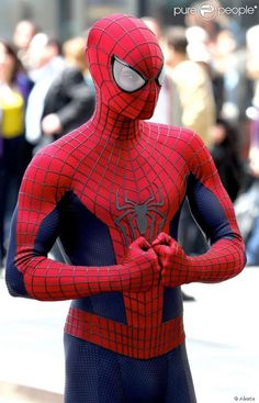 Spiderman - great costume #cosplay #spiderman