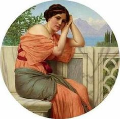 John William Godward - Corilla