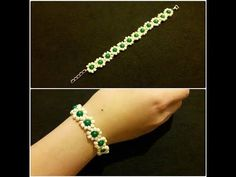 Jewelry - Jewelry Design - Sand and Metal Beads - Most Practical - Simple Bangle Making - . Simple Bracelets, Handmade Bracelets, Handmade Jewelry, Crochet Bracelet Pattern, Bracelet Patterns, Diy Schmuck, Schmuck Design, Bracelet Making, Jewelry Making