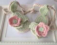 CROCHET PATTERNcrochet baby booties no34crochet by elifinedesigns