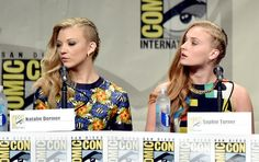 Natalie Dormer Sophie Turner Photos: 'Game of Thrones' Panel at Comic-Con