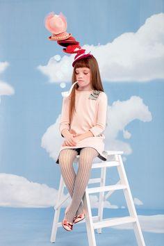 Girl - Collections - I Pinco Pallino photo by midivertounmondo styling Petra Barkhof grooming Antonella Gaglio