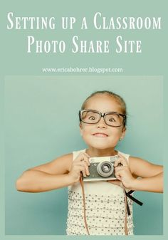 Every school year I set up a classroom photo share website. I have always used Shutterfly. They have this super easy to set up template for classroom share sites. Right now you are probably asking y