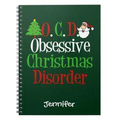 Christmas Obsession Notebook - Xmas ChristmasEve Christmas Eve Christmas merry xmas family kids gifts holidays Santa