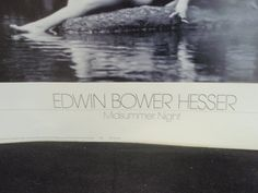 Edwin Bower Hesser First Edition Nude Art by SocialmarysTreasures, $87.00