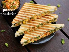 """[New] The 10 Best Food Ideas Today (with Pictures) - """"I love a sandwich that you can barely fit in your mouth because there's so much stuff on it. The bread should not be the main thing on a sandwich."""" So eat grilled paneer Sandwich _ _ Paneer Sandwich, Sandwich Sauces, Veg Sandwich, Easy Sandwich Recipes, Grilled Sandwich, Vegan Sandwiches, Green Chutney Recipe, Chutney Recipes, Sauce Recipes"""