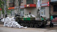 Террористы пытаются покинуть Славянск