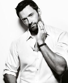 Hugh Jackman Shoot by Mark Abrahams