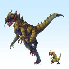 Realistic Pokemon Sketches: Haxorus by ~nauvasca on deviantART