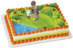 Dora Diego Birthday Party Cake Decoration Topper Kit | eBay