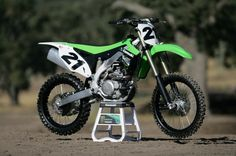 2013 Kawasaki KX450F @the_shinigami this is the bike I want except I want the 2015 model!