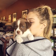 Pin for Later: Gigi Hadid's Instagram Is Filled With Fun Adventures and Endless Inspiration It's beyond cute.